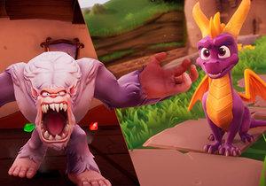 Spyro Reignited Trilogy je remake, který se povedl.