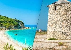 Nejkrásnější pláže řeckého ostrova Lefkada!