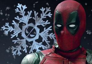 Záběry z traileru na vánoční komiksový film Once Upon a Deadpool
