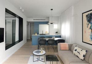 Domov mladé rodiny zdobí minimalistický styl a pastelové odstíny