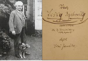 Originál Lišky Bystroušky skladatele Leoše Janáčka opouští bezpečí archivu jen zcela výjimečně.