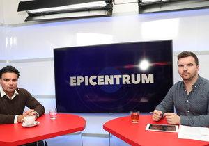 Místopředseda ODS Martin Kupka v pořadu Epicentrum