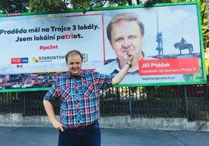 Novým starostou Žižkova je patriot Jiří Ptáček.