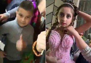 Svatba dětí v Rumunsku. Šlo pouze o rituál, říkají diváci.