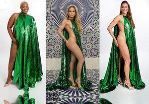 Hit internetu: Obyčejné ženy si sexy oblékly šaty Jennifer Lopez