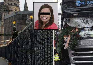 Vánoční trhy za ocelovým plotem. Berlín se po smrti Češky Nadi radikálně opevnil