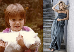 Lucka Vondráčková byla jako dítko velice roztomilá