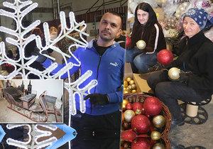Tisíce ozdob a stoleté sáně: Velkolepé přípravy pro vánoční Prahu vrcholí!