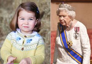 Královna abdikovat nebude. Její pravnučka už ví, jak zvládnout dav.