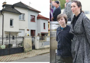 Rozhovor s Terezou Kostkovou o manželovi a novém domě.