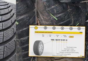 Šest bodů, jak vybrat správnou pneu