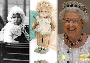 Oblíbená panenka malé královny Alžběty II. jde do dražby.