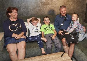 Mise nový domov: Helena a Erich potřebují prostor pro vnoučata, která si vzali do péče