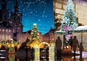 Takovouto podobu budou mít letošní vánoční trhy v centru Prahy.