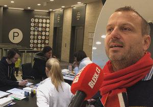 Registr dárců krvetvorných buněk realizoval nábor na Pankráci.