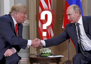 Nad schůzkou ruského prezidenta Vladimira Putina a jeho amerického kolegy Donalda Trumpa na okraj summitu G20 v Argentině visí otazník. Trump totiž nejdříve před odletem do Argentiny prohlásil, že je na setkání s Putinem příhodný čas, ale poté na Twitteru oznámil, že do vyřešení rusko-ukrajinského incidentu v Kerčském průlivu je v zájmu všech stran rokování s Putinem zrušit (29.11.2018).