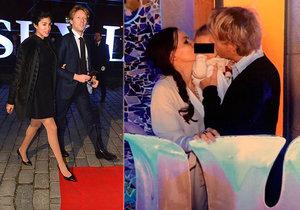Miliardář Janeček slavil s »kněžkou« Liliou a dcerkou! Kde ale nechal manželku Mariem?
