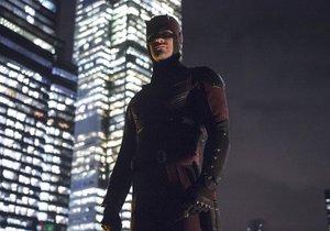 Záběry ze seriálu Daredevil.
