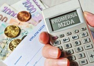Průměrná mzda v Česku stoupla o 6 procent