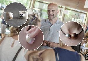Na prosincovém Dyzajn marketu bude své výtvory nabízet i Lubor Baum.