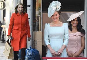 Maminka vévodkyně Kate prolomila mlčení: Bála jsem se, že o dcery přijdu!