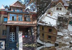 Zdemolovaná vila v ulici Na Šafránce je unikátní součástí komplexu. Její devastací trpí celá čtvrť.