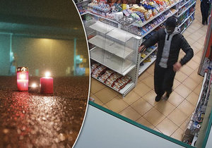 Nové záběry zabijáků z benzinky: Běželi vraždit
