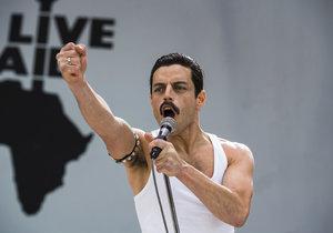 Záběry ze snímku Bohemian Rhapsody
