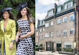 V Londýně je k mání bejvák vévodkyně Kate a její sestry Pippy.