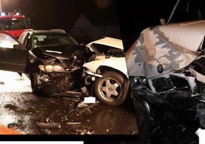 Český řidič způsobil v Polsku vážnou nehodu: 4 zranění