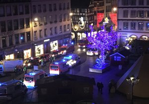 Zuzana ve Štrasburku zažila hrůzu a třes. Od teroru ji uchránila šťastná náhoda