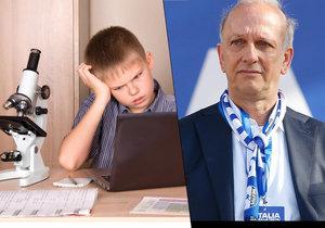 """Italský ministr školství Marco Bussetti pošle učitelům oběžník, aby dětem nezadávali na nadcházející svátky tolik úkolů. Kantorům v něm připomíná, že Vánoce jsou """"pro studenty a rodiny obdobím odpočinku"""" (12.12.2018)."""
