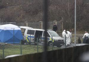 Policie vyšetřuje případ nálezu těla mrtvé ženy v  Teplicích.
