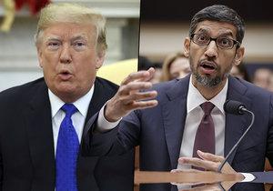 Google po vyhledání slova idiot ukáže prezidenta Donalda Trumpa. Američtí zákonodárci chtěli vědět, proč tomu tak je