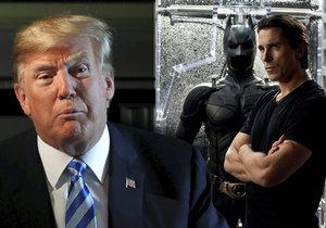 Donald Trump si myslel, že Christian Bale je skutečný Batman.