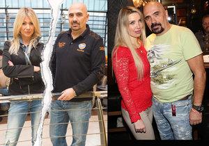 Čestmír Řanda ml. si po Tině Pletánkové našel mladou blondýnku Michaelu.