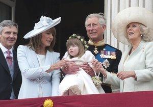 Camillina vnučka Eliza byla jednou z družiček na svatbě prince Williama s Kate.