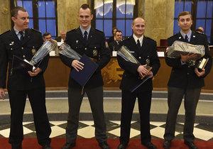 Ocenění Čin roku v Jihomoravském kraji převzali policisté v historickém sále nové brněnské radnice na Dominikánském náměstí.
