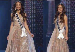 Lea Šteflíčková na Miss Universe v Thajsku