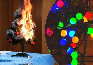 Vánoční světýlka zkrášlí byt i zahradu. Umíte je správně vybrat?