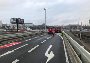 Most v Bubenské ulici bude krátkodobě uzavřen pro tramvaje a auta.