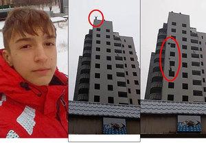 Bogdan Firsov (†15) zemřel při seskoku z budovy s padákem.