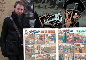 Animátor a komiksový tvůrce Marek Berger jako malý podlehl kouzlu a poetice Rychlých šípů. Dnes se je snaží představit i dnešním generacím v soudobějším světle.