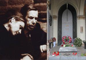 Dagmar Havlová vzpomínala na svého muže Václava Havla, který zemřel přesně před sedmi lety.