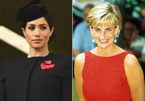 Podle expertů si Meghan zakládá na průšvih. Snaží se být jako Diana a to se jí nemusí vyplatit.