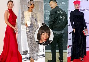 Františka vybrala nejlepší outfity roku