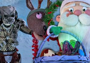 Vánoční popkulturní kraťas The Predator Holiday Special.