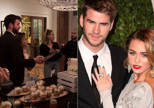 "Miley a Chris si řekli své ""ano""."