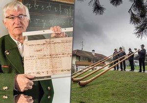Už jste slyšeli Tichou noc v podání trubačů hrajících na alpský roh? Šanci máte ve vesničce Arnsdorf, kde se tato skladba zrodila.