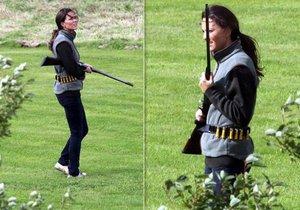 Kate Middleton na lovu 2009